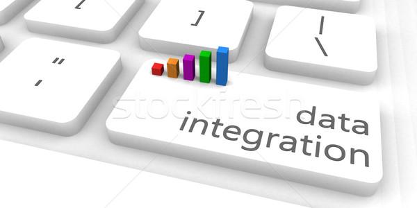 Datos integración rápido fácil sitio web negocios Foto stock © kentoh