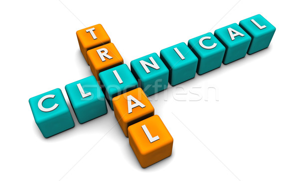 Clinical Trial Stock photo © kentoh