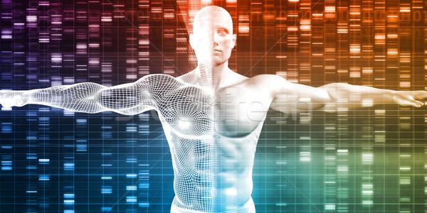 Genético investigación desarrollo ciencia datos tecnología Foto stock © kentoh