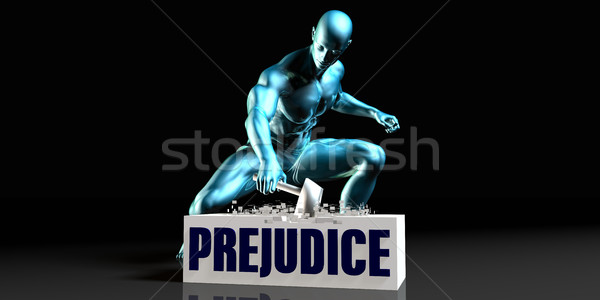 Get Rid of Prejudice Stock photo © kentoh
