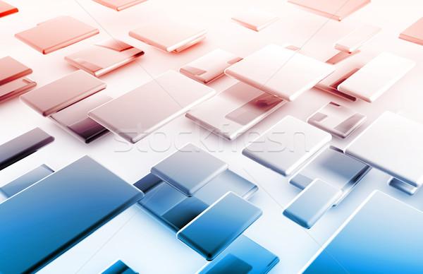 à grande vitesse internet rapide déplacement données info Photo stock © kentoh