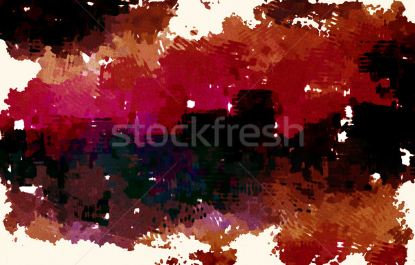 Brush Stroke Abstract Stock photo © kentoh