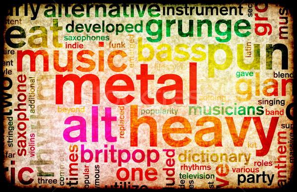 重金属 音楽 ポスター 芸術 ビジネス 背景 ストックフォト © kentoh