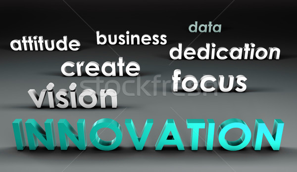 Innovation at the Forefront Stock photo © kentoh
