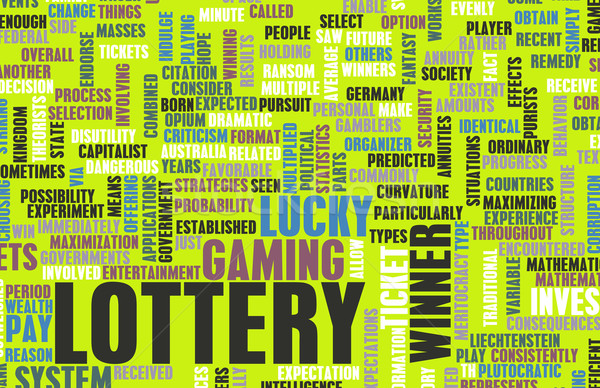 Lottery Stock photo © kentoh
