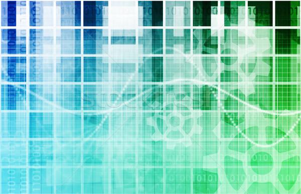 Software programma lopen code script technologie Stockfoto © kentoh