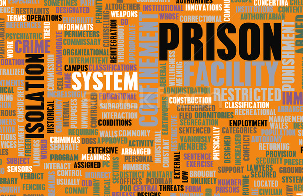 Prisão facilidade prisão negócio edifício fundo Foto stock © kentoh