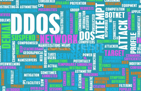 DDOS Distributed Denial of Service Attack Stock photo © kentoh