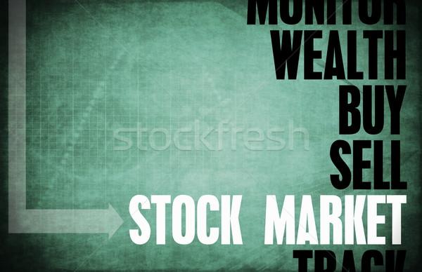 Stock Market Stock photo © kentoh