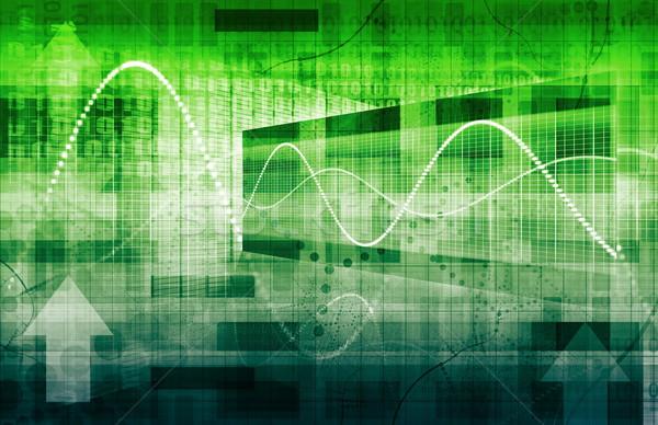 Project beheer analyse business ontwerp Stockfoto © kentoh