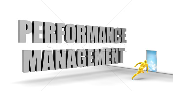 Performans yönetim hızlı izlemek doğrudan hızlı Stok fotoğraf © kentoh