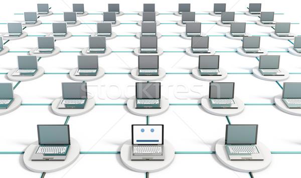 Netwerk veiligheid internet gegevens achtergrond corporate Stockfoto © kentoh