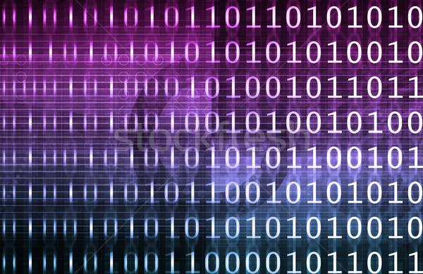 Bilgi teknolojisi Internet arka plan güvenlik web sanayi Stok fotoğraf © kentoh