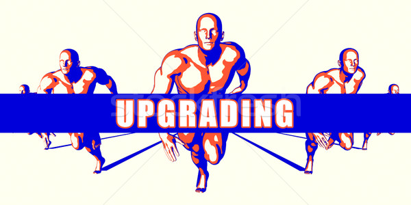 Upgrading Stock photo © kentoh