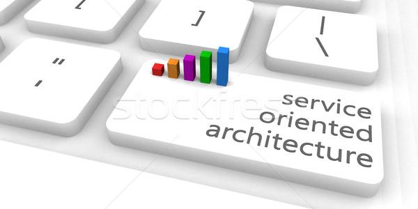 Service Oriented Architecture Stock photo © kentoh