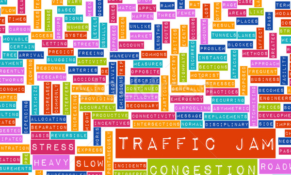 Traffic Jam Stock photo © kentoh