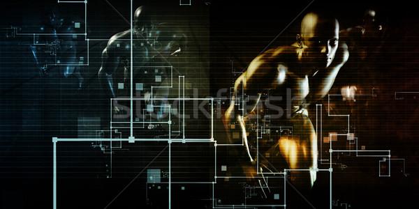 Internet bağlantı web veri bağlantı Stok fotoğraf © kentoh