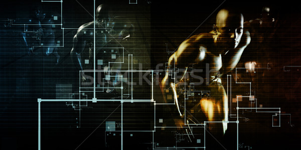 Internet verbinding web gegevens connectiviteit Stockfoto © kentoh
