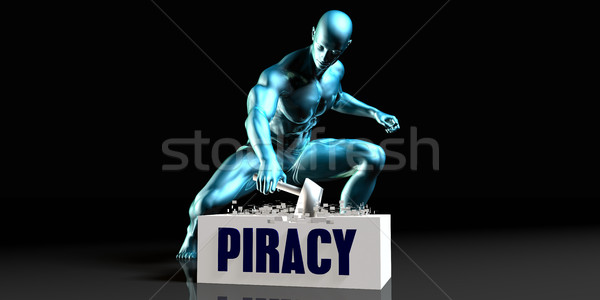 Get Rid of Piracy Stock photo © kentoh