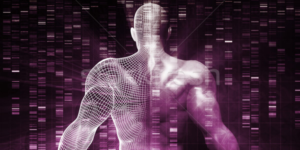 Genetic Research on Human Body Stock photo © kentoh