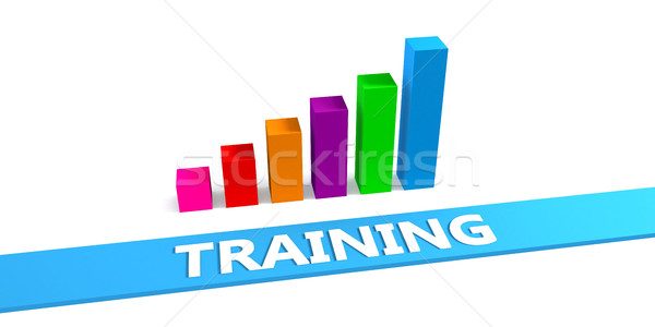 Great Training Stock photo © kentoh
