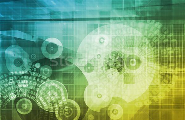 技術 接続性 を ウェブ 世界 バー ストックフォト © kentoh