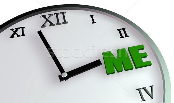 Personal Time Stock photo © kentoh
