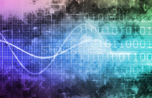 Zdjęcia stock: Technologia · informacyjna · działalności · Internetu · streszczenie · medycznych · świetle