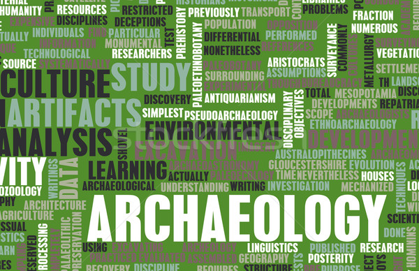 Archaeology Stock photo © kentoh