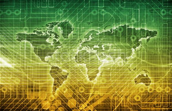 Globale abonnement diensten business nieuws onderwijs Stockfoto © kentoh