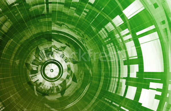 Technology Network Stock photo © kentoh