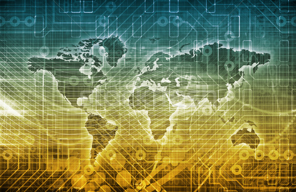 Stock photo: Global Digital Technology Concept