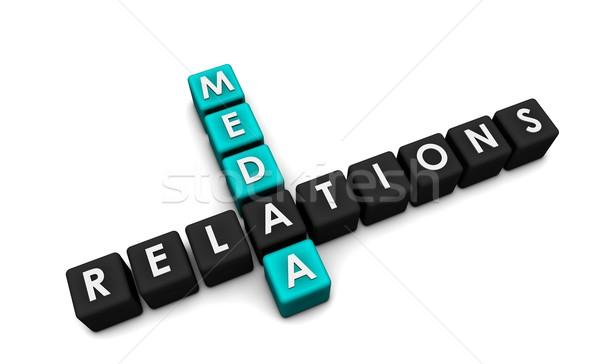 Media Relations Stock photo © kentoh