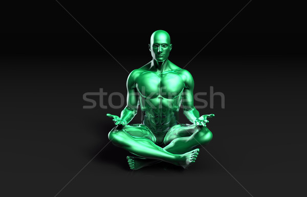 Spiritual Healing Stock photo © kentoh