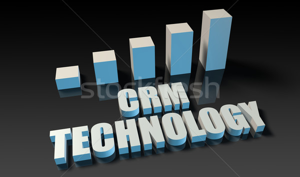 Crm technology Stock photo © kentoh