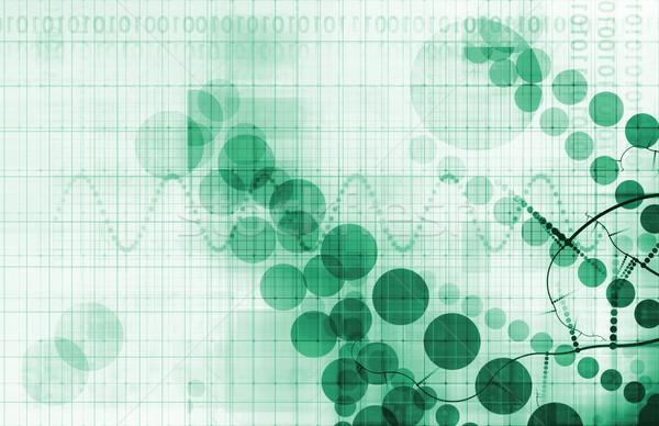 Chimiques science découverte technologie verre fond Photo stock © kentoh