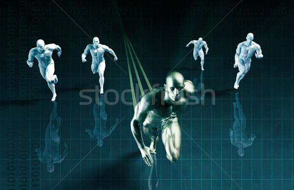 Projecting the Future Stock photo © kentoh