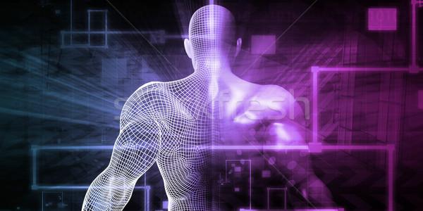 науки технологий тело медицинской природы дизайна Сток-фото © kentoh