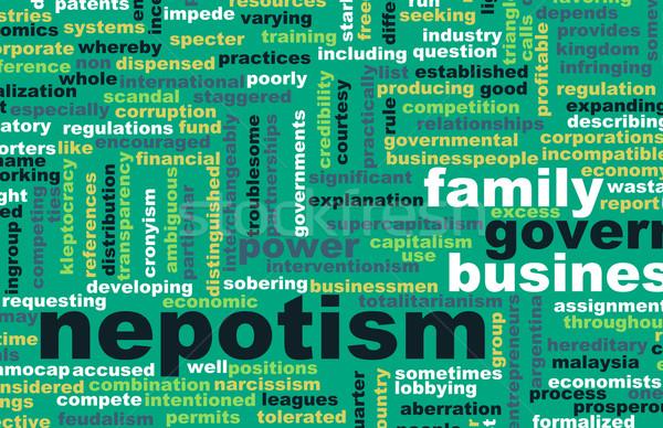 Negócio governo família conceito abuso Foto stock © kentoh