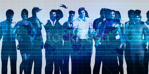 Business People Group Stock photo © kentoh