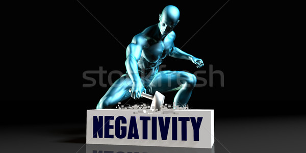 Get Rid of Negativity Stock photo © kentoh