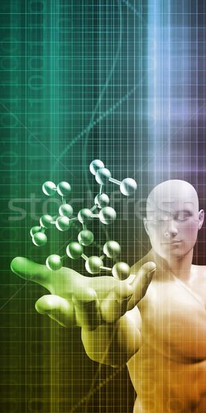 製薬業界 生化学 健康 薬 科学 化学 ストックフォト © kentoh