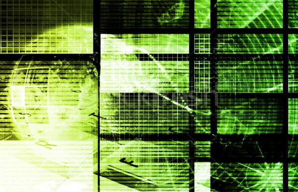 Green Information Technology Stock photo © kentoh