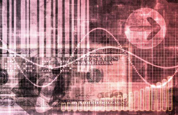 ピンク ビジネス 抽象的な サイバースペース 芸術 コンピュータ ストックフォト © kentoh