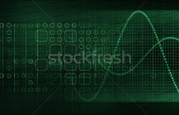 мобильность технологий телефон фон сеть веб Сток-фото © kentoh