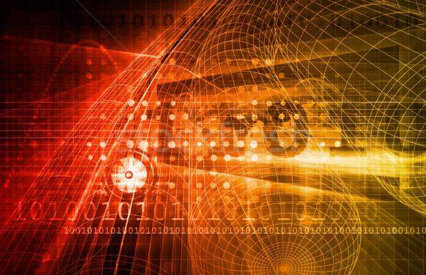 бизнеса аналитика цифровая технология компьютер аннотация технологий Сток-фото © kentoh