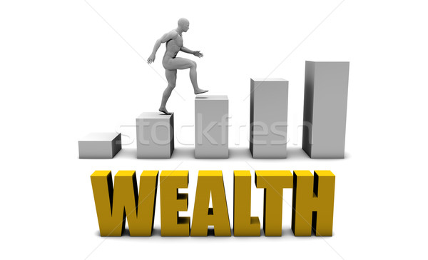 Wealth Stock photo © kentoh