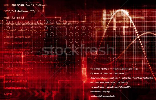 DNS tudomány spirál technológia háttér drogok Stock fotó © kentoh