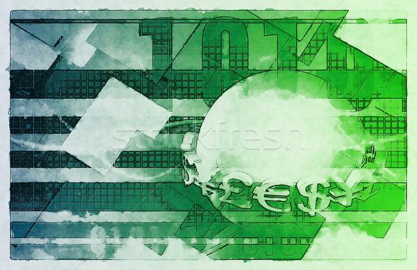Valuta események külföldi csere internet pénzügy Stock fotó © kentoh