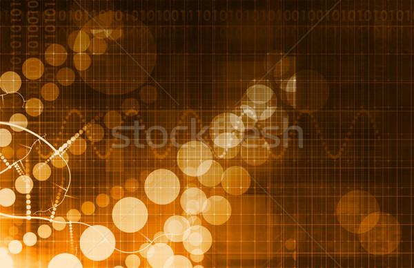 Stock photo: Virtual Business